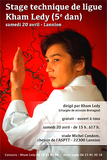 stage de ligue Kham Ledy 20 avril 2013